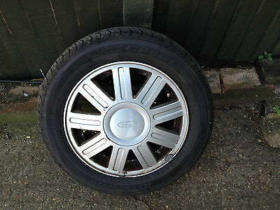 Set Of 4 Alloy Wheels With Very Good Tyres
