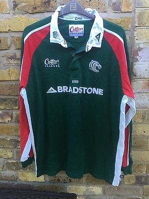 Leicester Tigers Away Rugby Jersey/Shirt by Cotton Traders * Size XXL