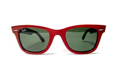 Ray Ban Original Wayfarer Red/Green Sunglasses 50mm RB2140 955