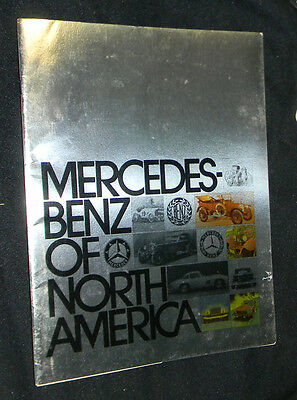 Obscure 1970s MERCEDES BENZ OF NORTH AMERICA Magazine Collectors MUST L@@K