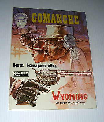 COMANCHE Loups Wyoming French Lombatd western Hermann 1976