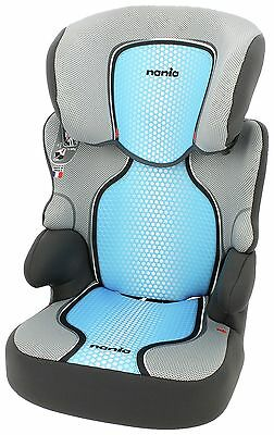 Nania Groups 2-3 Befix SP First Pop Blue Booster Car Seat. From Argos on ebay