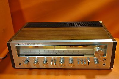 """Vintage 70's Pioneer Sx-750 Am/fm Stereo Receiver """"nice Face"""""""