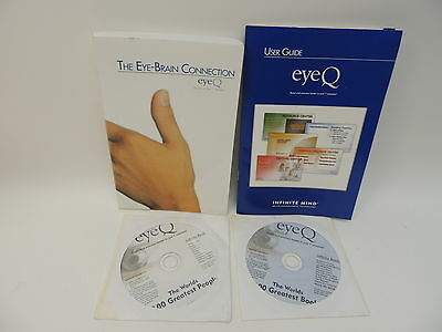 eyeQ Speed Reading User Guide Page Turning Book 100 Greatest Books People Discs