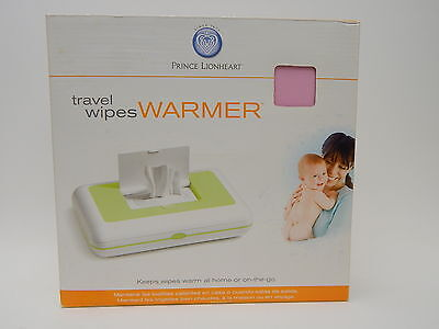 Prince Lionheart Travel Baby Wipes Warmer Home and Travel Power Cord NIB Pink