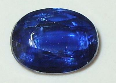 1.97ct Beautiful Top Color Nepal Blue Kyanite Oval Cut 9x7mm SPECIAL