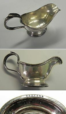 Vintage Antique CHRISTOFLE France Silver Plate Sauce/Gravy Boat