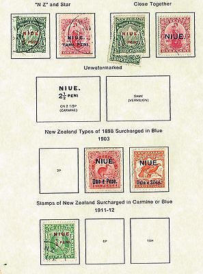 Niue F-Vf Mh And Used  (Uje20,3