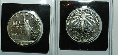U.s.a.  Silver Dollar 1986 S  - Statue Of Liberty - Unc
