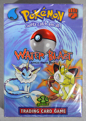 Pokemon English Jungle Water Blast Factory Sealed 2 Player Starter Deck Set