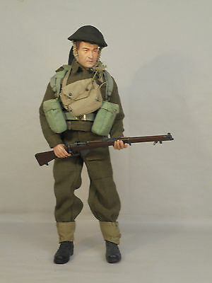 Dragon Cyber Hobby 1/6 WW2 British Infantry action figure, fine. (A7)