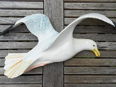 Largest Beswick Flying Seagull Pottery Wall Plaque 658/1