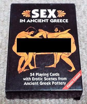 Sex in Ancient Greece - Pack of Non Standard Playing Cards