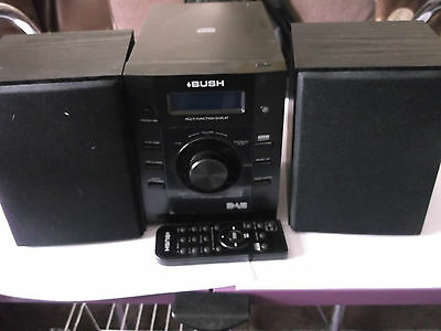Bush Micro DAB NE-8061 HiFi System WITH REMOTE WORKING
