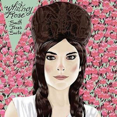 """WHITNEY ROSE South Texas Suite 12"""" VINYL US Six Shooter 2017 6 Track 12 Inch EP"""