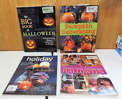 Halloween how to do books lot of 4 assorted titles from years 2000 to 2004