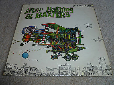 JEFFERSON AIRPLANE-After Bathing At Baxter's VINYL LP UK 1st GROOVED MONO