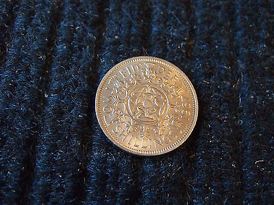 Queen Elizabeth Ii 1967 Two Shilling Uncirculated