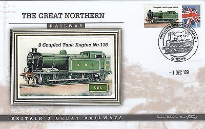 (02883) GB Benham Cover 8 Coupled Tank Engine No 116 Great Northern Railway 2009