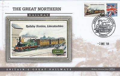 (02884) GB Benham Cover Spilsby Station Lincolnshire Great Northern Railway 2009