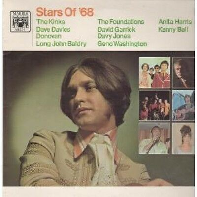 STARS OF '68 Various LP VINYL UK Marble Arch 1968 10 Track Compilation