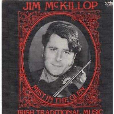 JIM MCKILLOP Mist In The Glen LP VINYL Outlet 1983 14 Track Textured Sleeve Has