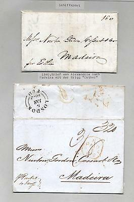 (940527) Shipmail, Letter, Classical, Portugal Madeira