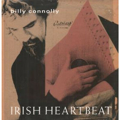 "BILLY CONNOLLY Irish Heartbeat 12"" VINYL UK Dover 1990 4 Track Featuring"
