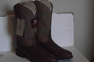 Ariat Men's Heritage Stockman Western Boot Size 8.5D MEDIUM NEW w/Tags