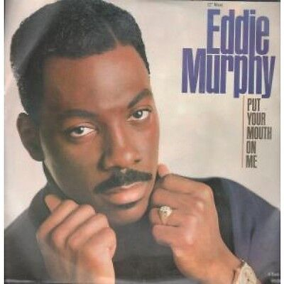 "EDDIE MURPHY Put Your Mouth On Me 12"" VINYL UK Cbs 1989 4 Track 12 Inch Version"