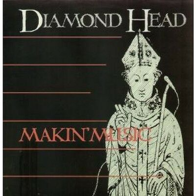 "NWOBHM DIAMOND HEAD Makin' Music 12"" VINYL UK Mca 1983 2 Track B/W Andy Peebles"