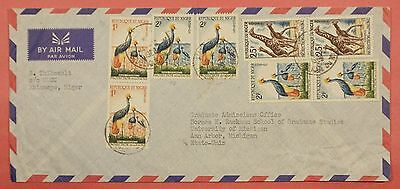 1960's Niger Matameye Cancel Airmail Cover To Usa