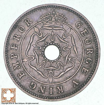 1934 Southern Rhodesia 1/2 Penny *0786