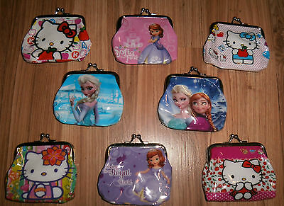 Aus Seller...CHILD'S METAL CLIP COIN PURSE.ASSORTED DESIGNS  new