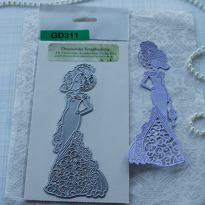 "1 x GD311   Metal Cutting Die ""Elegant Lady#4 ""  NEW"