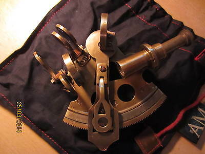 Nautical Bronze Pocket Sextant,Sammler-Editionen , Exklusive Editionen , * NEU *