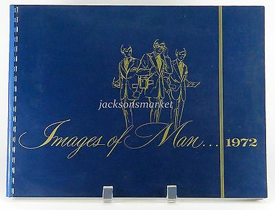 Images of Man Men's Clothing Catalog 1972, Suits, Slacks, Coats, Formal Wear