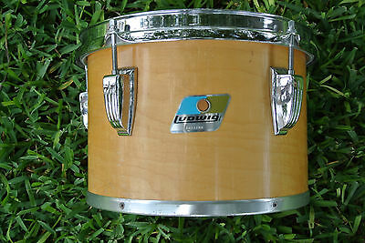 "70's/80's Ludwig USA 10"" THERMOGLOSS CONCERT TOM for YOUR DRUM SET! #A207"