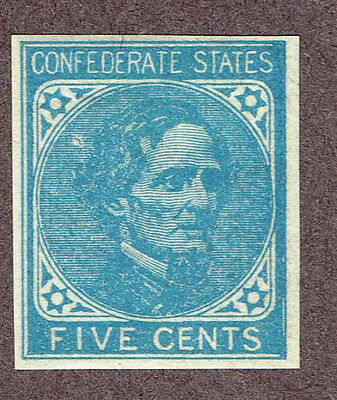 USA CONFEDERATE STATES #7a VF MLH   (UJE20