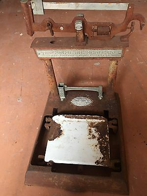 antique scales (the Computing Scale Company USA)