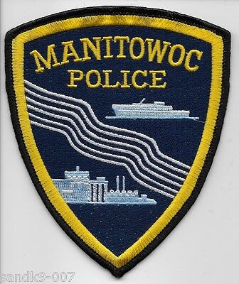 MANYTOWOC Police State of WISCONSIN WI Shoulder Patch