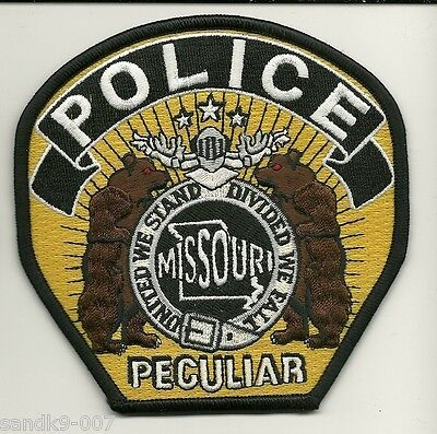 New Peculiar Police State of MISSOURI MO NEW Shoulder Patch