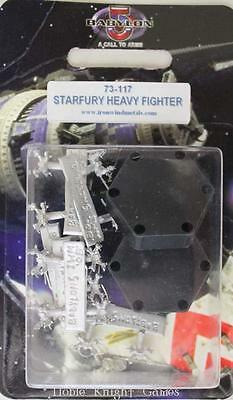 Iron Wind B5 Mini Fleet Scale Starfury Heavy Fighter Pack MINT