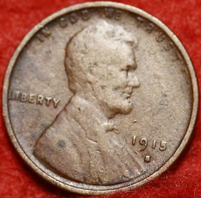 1915-S San Francisco Mint Copper Lincoln Wheat Cent Free Shipping