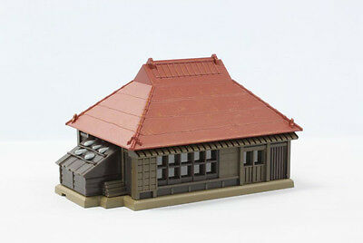 Rokuhan S025-1 Z Scale Metal-Roof Farmhouse (Red) (1/220 Z Scale) YDB
