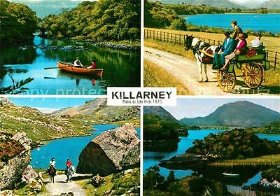72797779 Killarney Kerry Lakes Sightseeing tours Landschaftspanorama Seen Bootfa