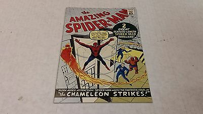 The Amazing Spider-Man #1 Golden Record Reprint ( Marvel / 1966) NM- or Better !