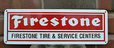 Firestone Tires Service Center Sign Mechanic Garage Shop Tire Store Sign 7Day