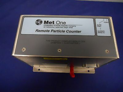Met One R5813 LL Remote Particle Counter Size 0 3um 2037100-02 Warranty Free Shp