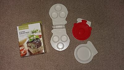 Lakeland stuffed burger press great used condition